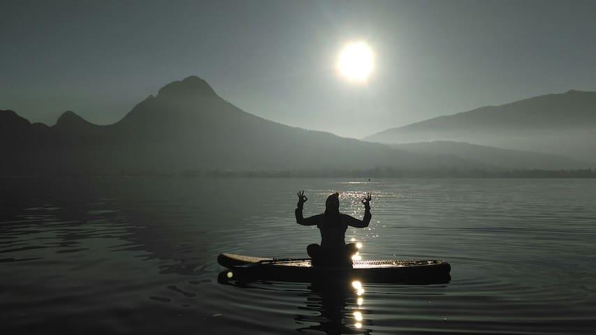 Joli t2 entre lac et montagnes - Doussard - Lejlighed