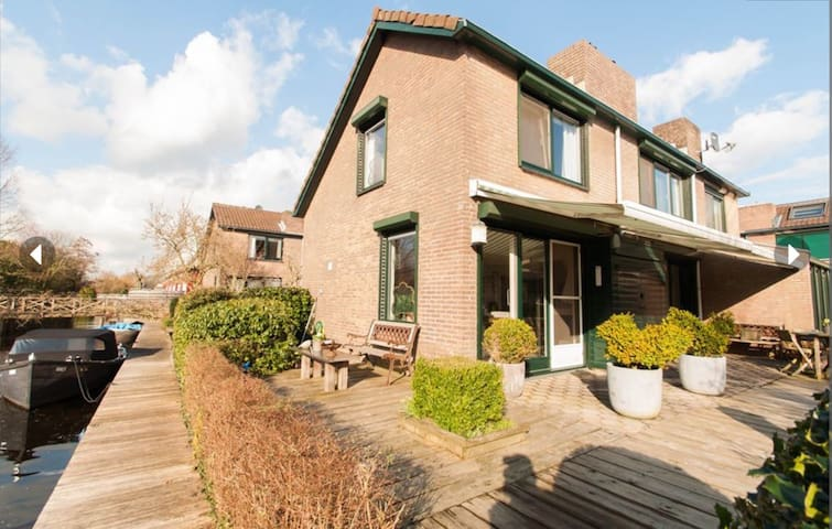 Holiday Home on the waterside, with two parkings - Vinkeveen - Huis