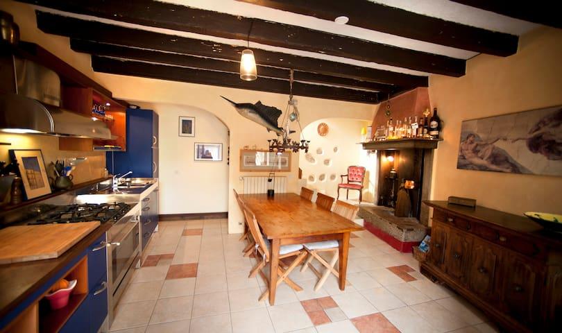 Idyllisches Haus mit bester Ausstattung - Gargnano - House