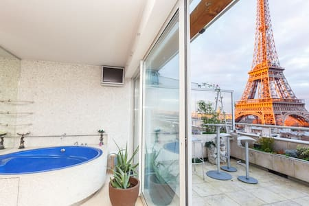 Penthouse w the best view of Paris - 巴黎 - 公寓