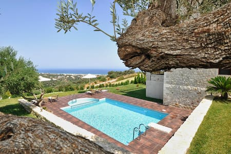 Peace & Comfort in Private Pool Villa Dafni - Rethimnon