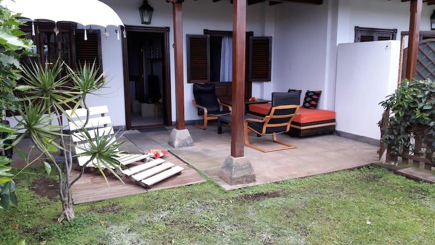 Apartamento con jardín privado + WIFI - Puerto de la Cruz - Wohnung