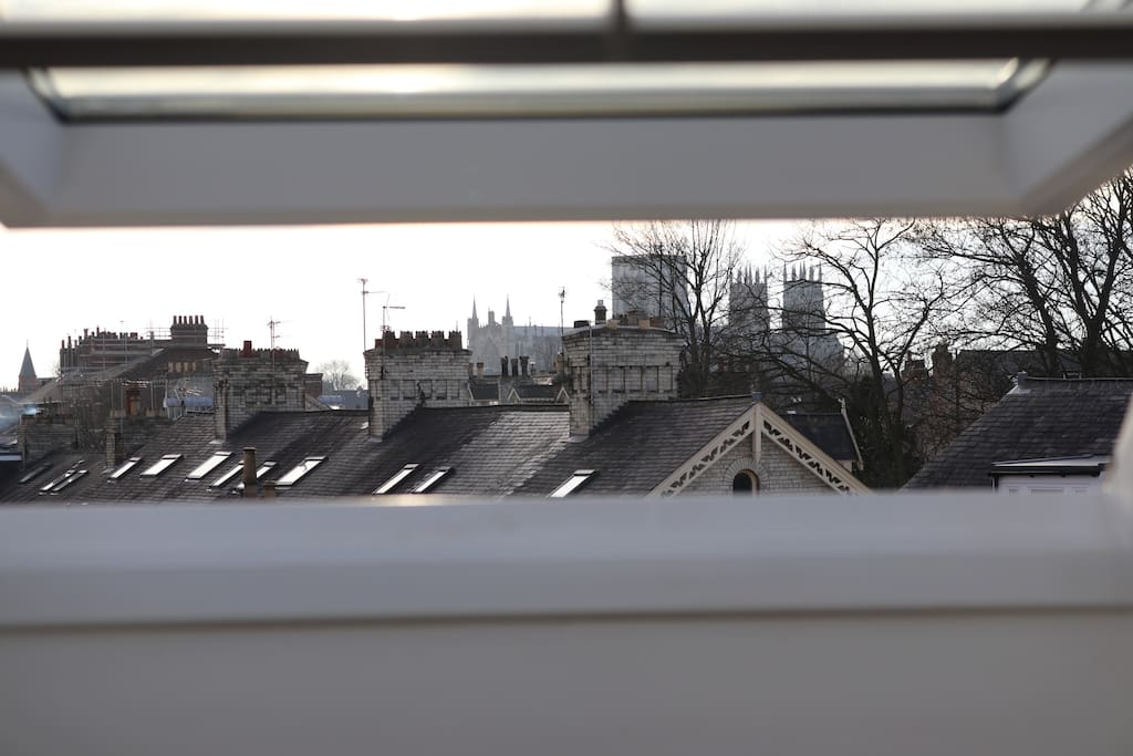 Views of York Minster from bedroom #5