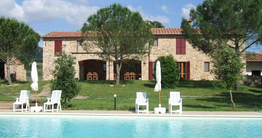 Casetta Francini - apt 6-10 persone - Civitella Marittima - Apartment