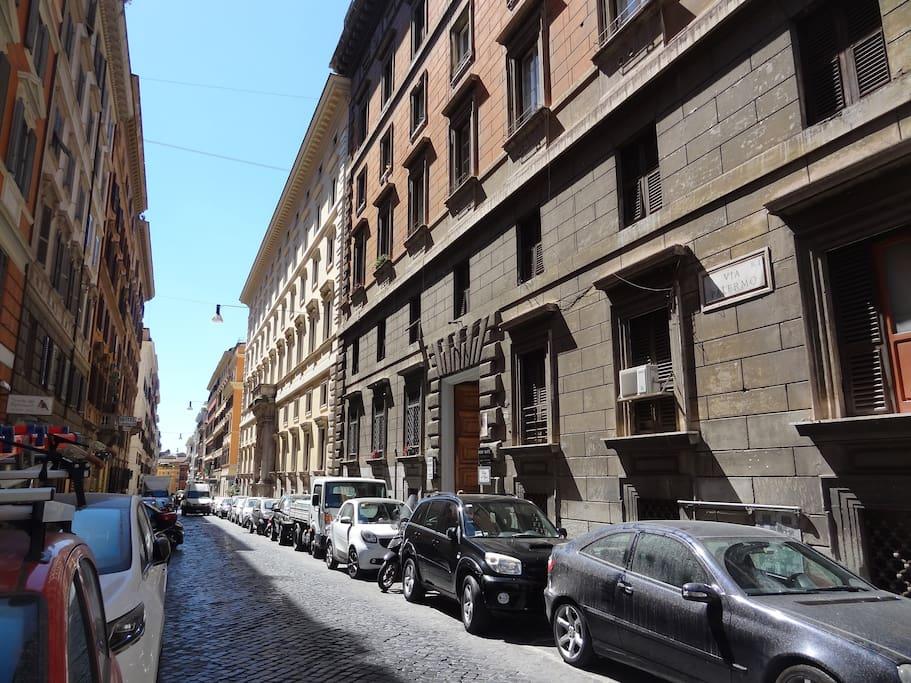Rione Monti, primo quartiere di Roma.