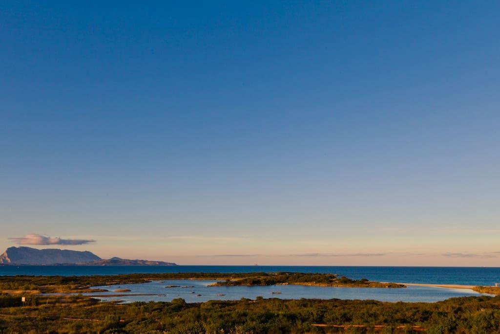 Isuledda beach's view - Vista spiaggia Isuledda