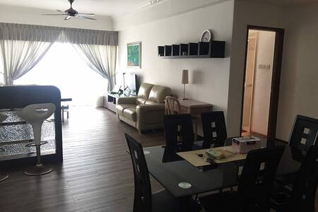 Seaview + Poolview Condominium unit