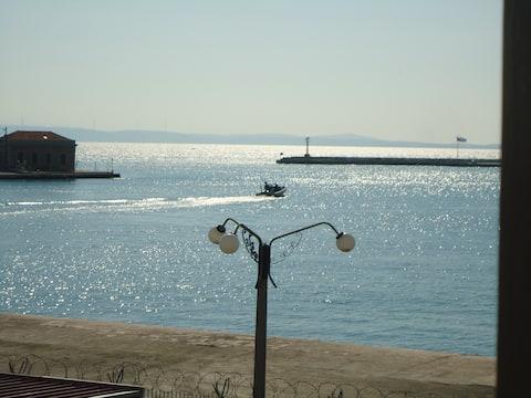 Et hus på Chios havn