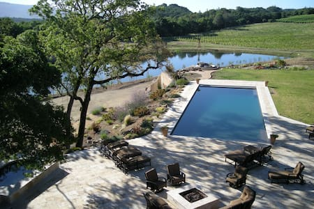 33 Acre Wine Estate,Lake,Waterslide - Glen Ellen