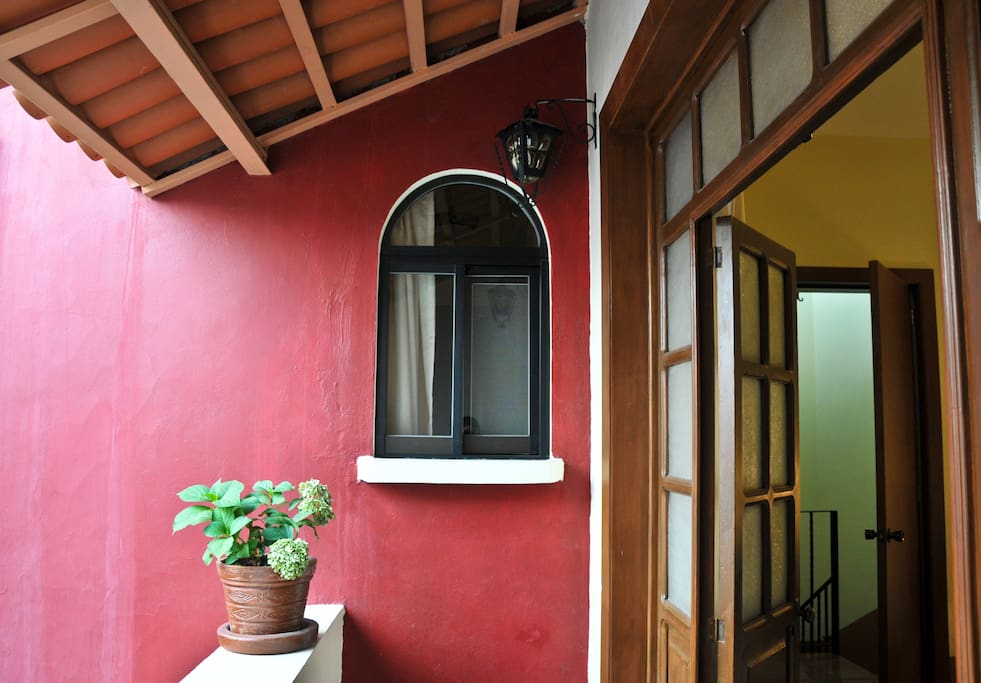 El balcón de el Tapanco