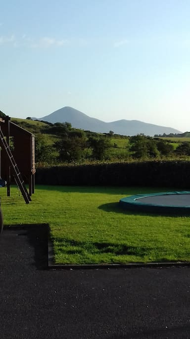 View of Croagh Patrick from our back door