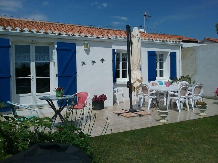 Maison au Vieil,Noirmoutier en île.