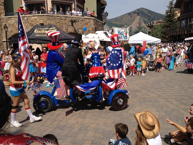 July 4th celebration is so much fun!