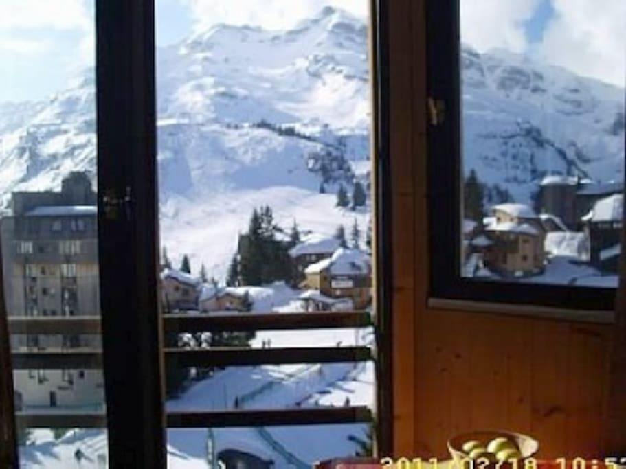 vue panoramique hiver