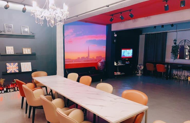 서울양재 강남파티룸 투데이즈파티]회식 생일파티 브라이덜샤워 뒷풀이 30명이상가능 대형단체룸