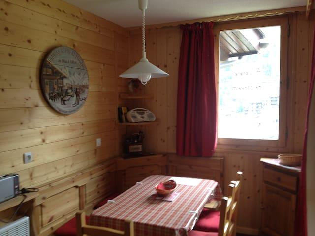 Studio ambiance montagne Valmorel - Les Avanchers-Valmorel - Departamento
