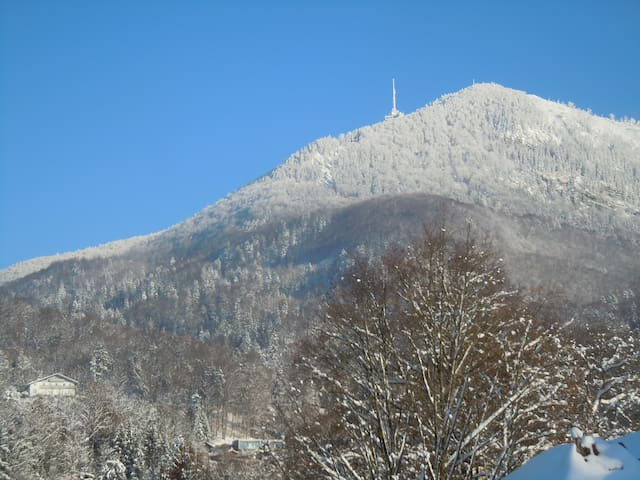 Mountain from our house: Gaisberg, nice hiking fro 2hours