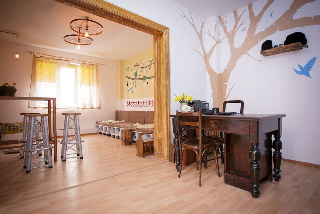 Bucur's chilling room