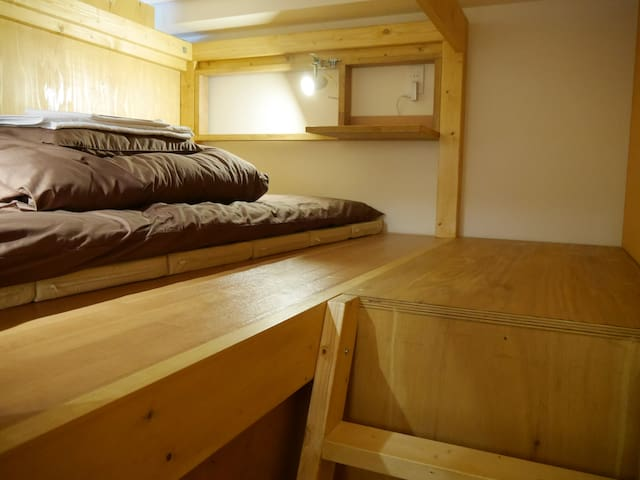 Family room with 4 bunk beds for 5 ~ 8 persons