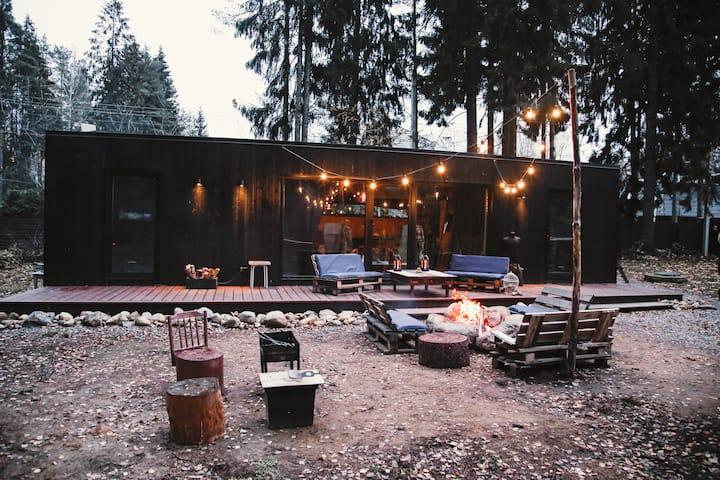 La Dacha. Дизайнерский домик во Всеволожске