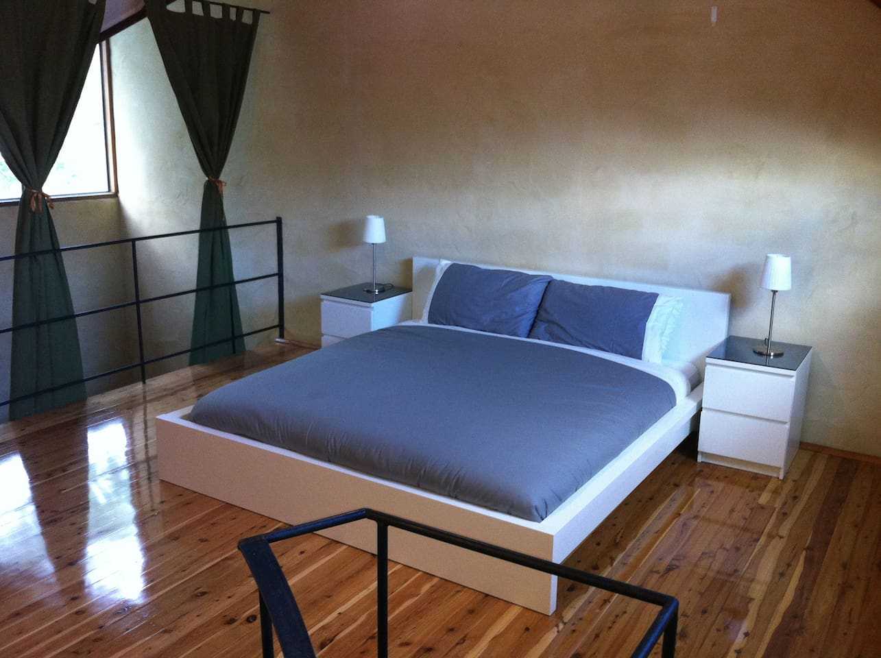Master Bedroom, top mezzanine floor