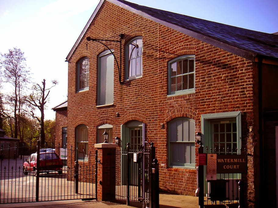Grade II Listed Building, which was originally a Victorian paper factory.