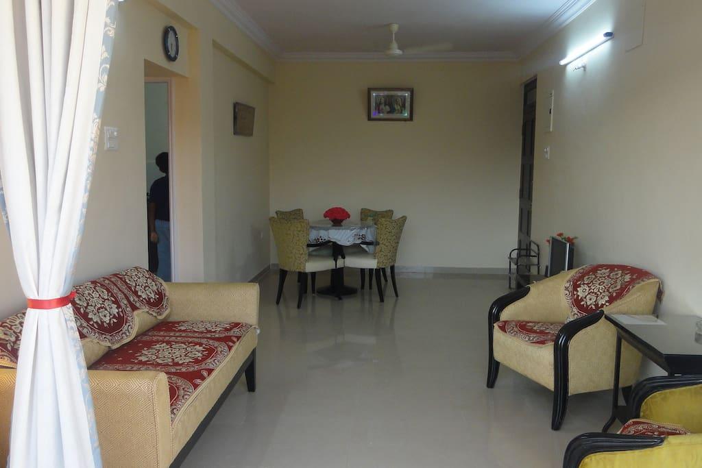 Full View of Living Room