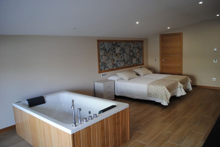 Apartamento con jacuzzi en Costa da Morte