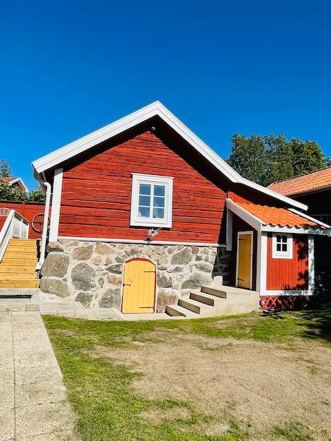 Välkommen till Lilla Fridhem nära Gullspångsälven.