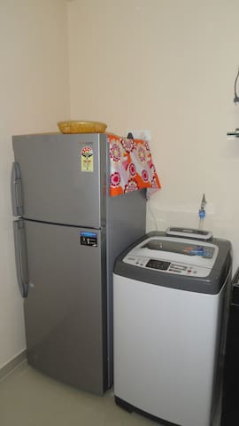 Refrigerator & Washing Machine