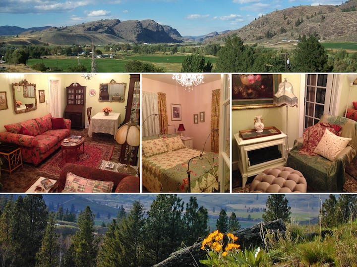 Kokanee Cottages - 1BR Nootka Rose - Okanogan WA