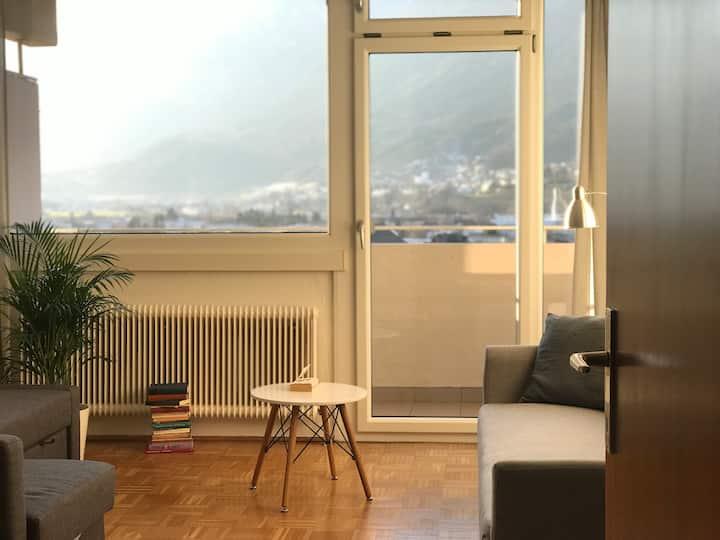 Bright and cozy Studio Apartment with unique View