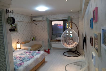 欧美田园风格的舒适公寓 - Jinan - Byt