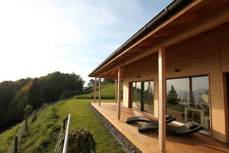 Design wood house with amazing view - Chardonne - Talo