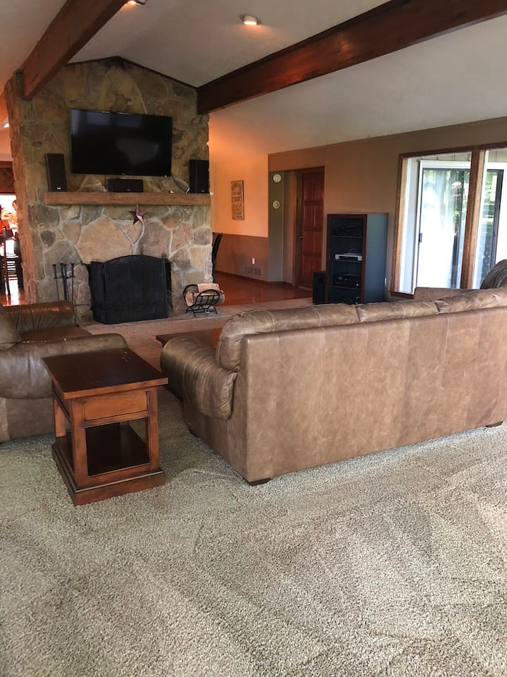 Another view of main level living room.