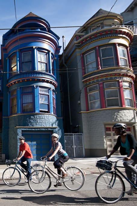 The San Francisco Bike Tour