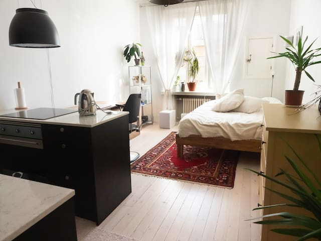 Awesome studio near downtown and Pasila railwayst!
