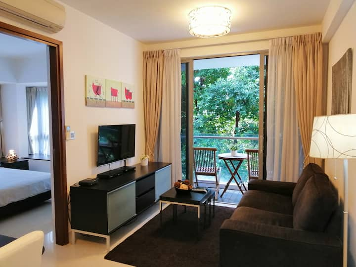 Fully furnised, light&airy 2Bedrooms at District 3
