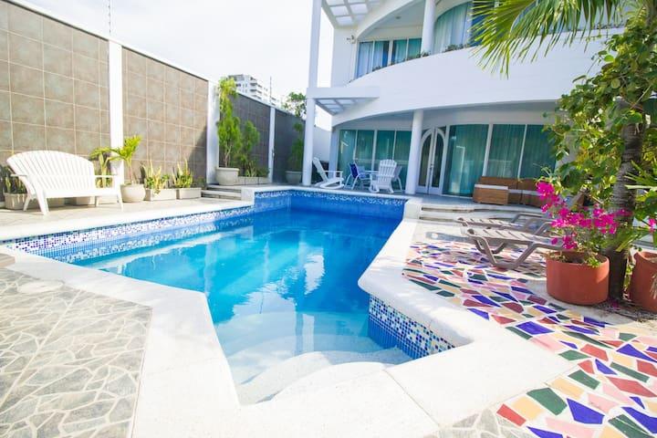 Villa Juana en Cartagena de Indias, Colombia.