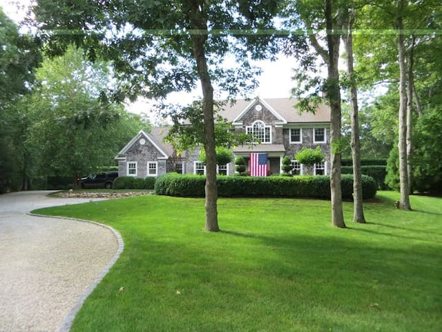 Stunning East Hampton retreat.