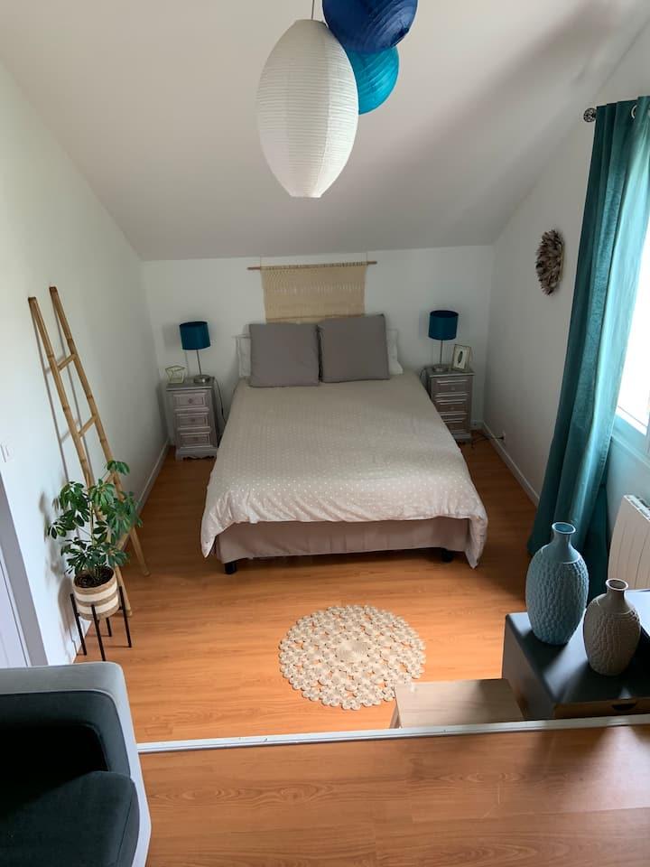 Chambre dans maison agréable