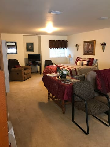 Spacious Clean Private Basement Apt w/Hot Tub - Colorado Springs - Apartament