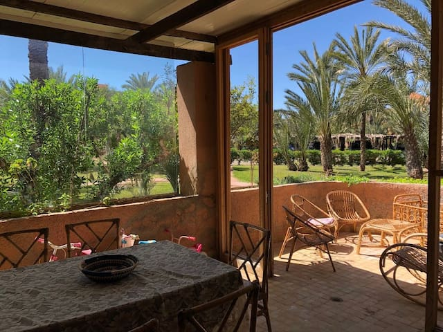Maison dans 5 hectares de Palmeraie Marrakech
