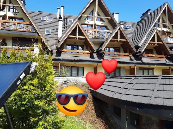 Apartament Skandynawska Prostota - z basenem