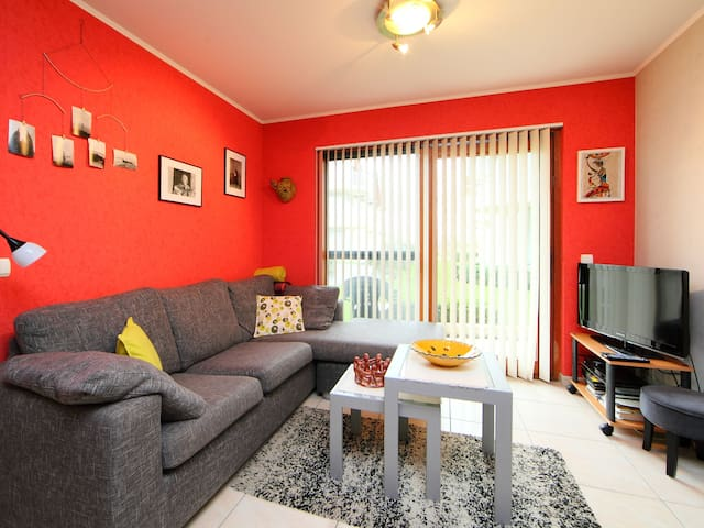 2-room apartment 35 m² Blutsyde Promenade in Oostende for 4 persons