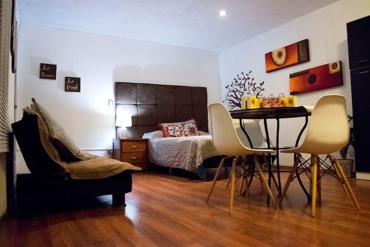 Beautiful Loft in Cholula, 5min from UDLAP