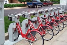Bicycle kiosks