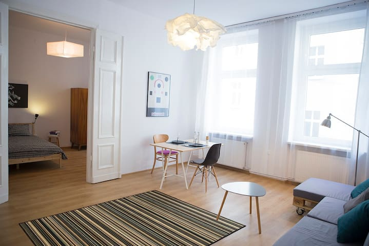 Scandinavian apartment in old town