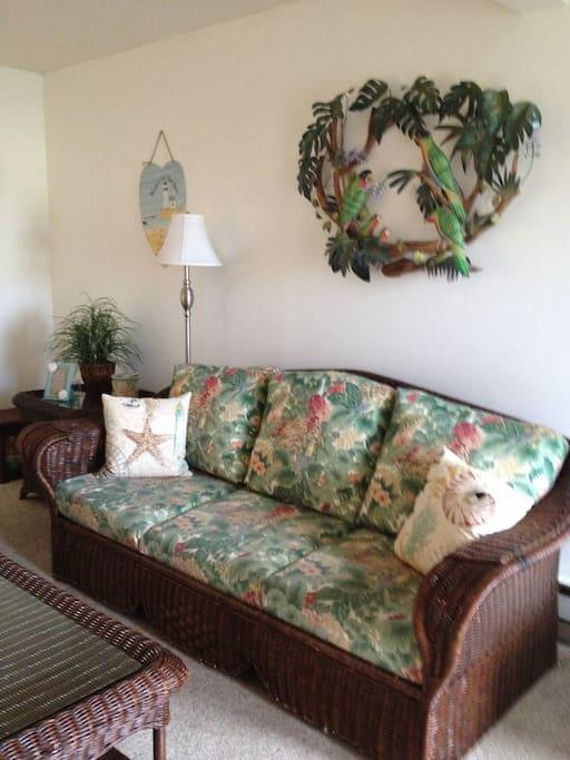 Living Room~Queen Size Sleeper Sofa