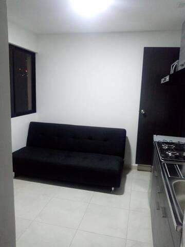 Salón común - sala de estar y cocina